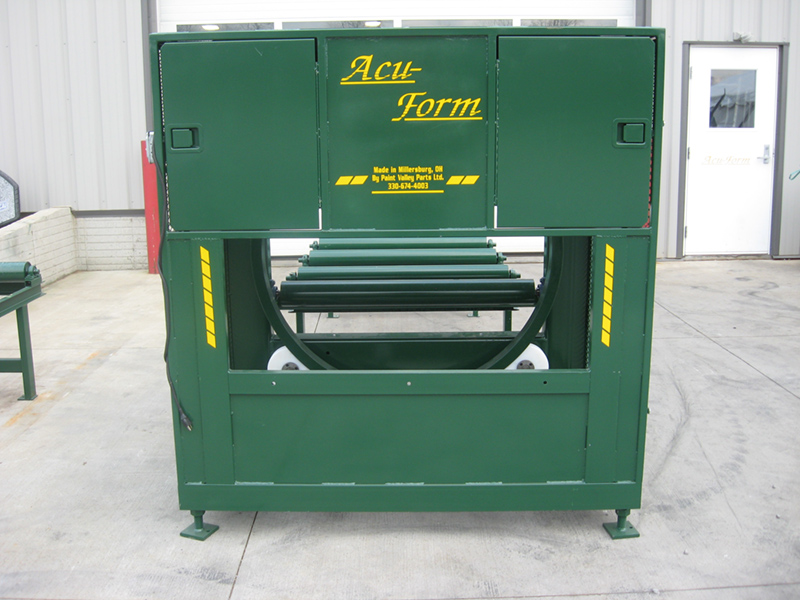 wrappers, acu-form, metal roofing roll formers
